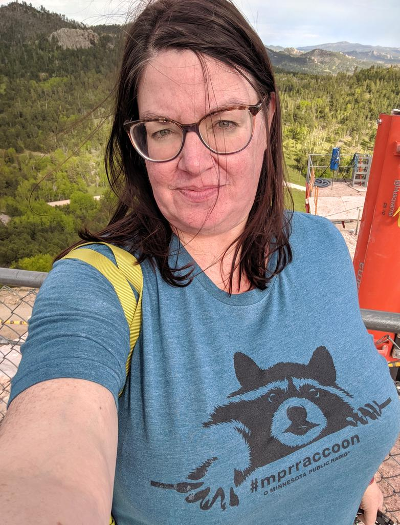 Good thing I brought my t-shirt on vacation so I was ready to mark the one year anniversary of #mprraccoon's liberation. <br>http://pic.twitter.com/4QSS5D4jmg