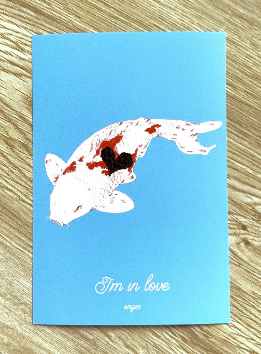 23日のアルトヴァリエにと作った新作達を受け取りました か、可愛くないですか…? 私魚も好きなんです🐟 ずっと欲しかった鯉雑貨を作ってしまいました😊シリーズ名は『I'm in love』です(ダジャレ…) イベントで初売りします〜🙌  #artevarie