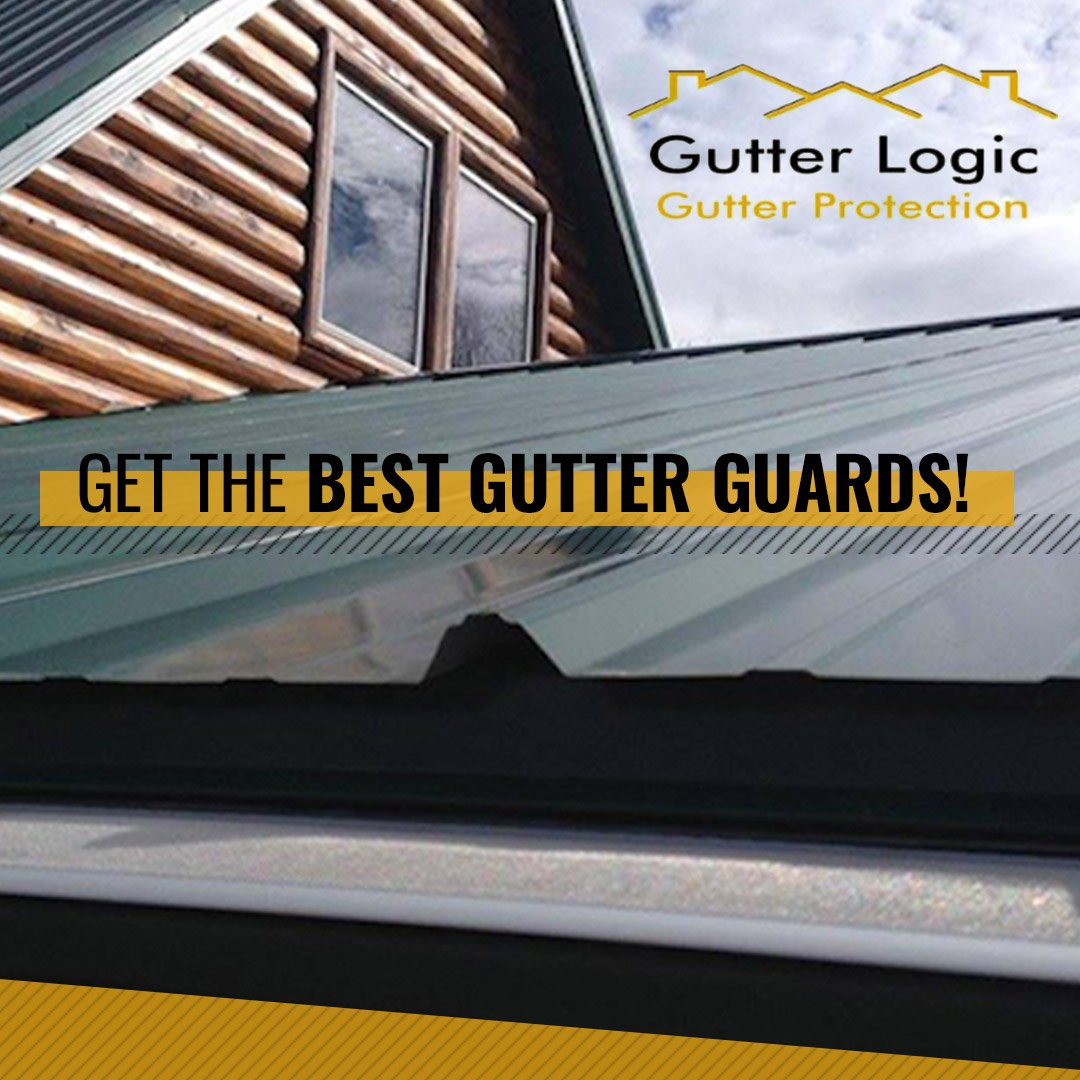 Tired of cleaning your gutters? Take it off your to-do list forever when you get GutterDome by @GutterLogic! Let us help you with professional gutter guard installation gutterlogic.com/gutter-guard-i…