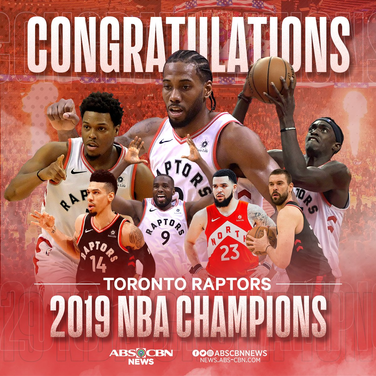Warriors Year By Year: Toronto Raptors: WE THE NORTH! Toronto Raptors Capture