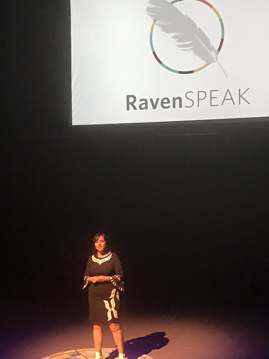 Still reflecting on the powerful talks at #ravenspeak #amplified last night. It was an honour to bear witness to such amazing speakers. Thank you @mcarolynroberts for sharing your truth. The future is female and indigenous!
