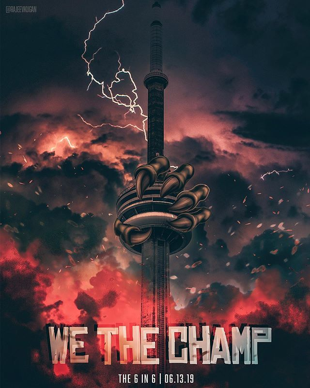 #WETHECHAMP @RAPTORS MADE HISTORY TODAY #WETHENORTH #6IN6 #SHUTDOWNTHECITY // Follow me on IG: http://bit.ly/2ntoNkY