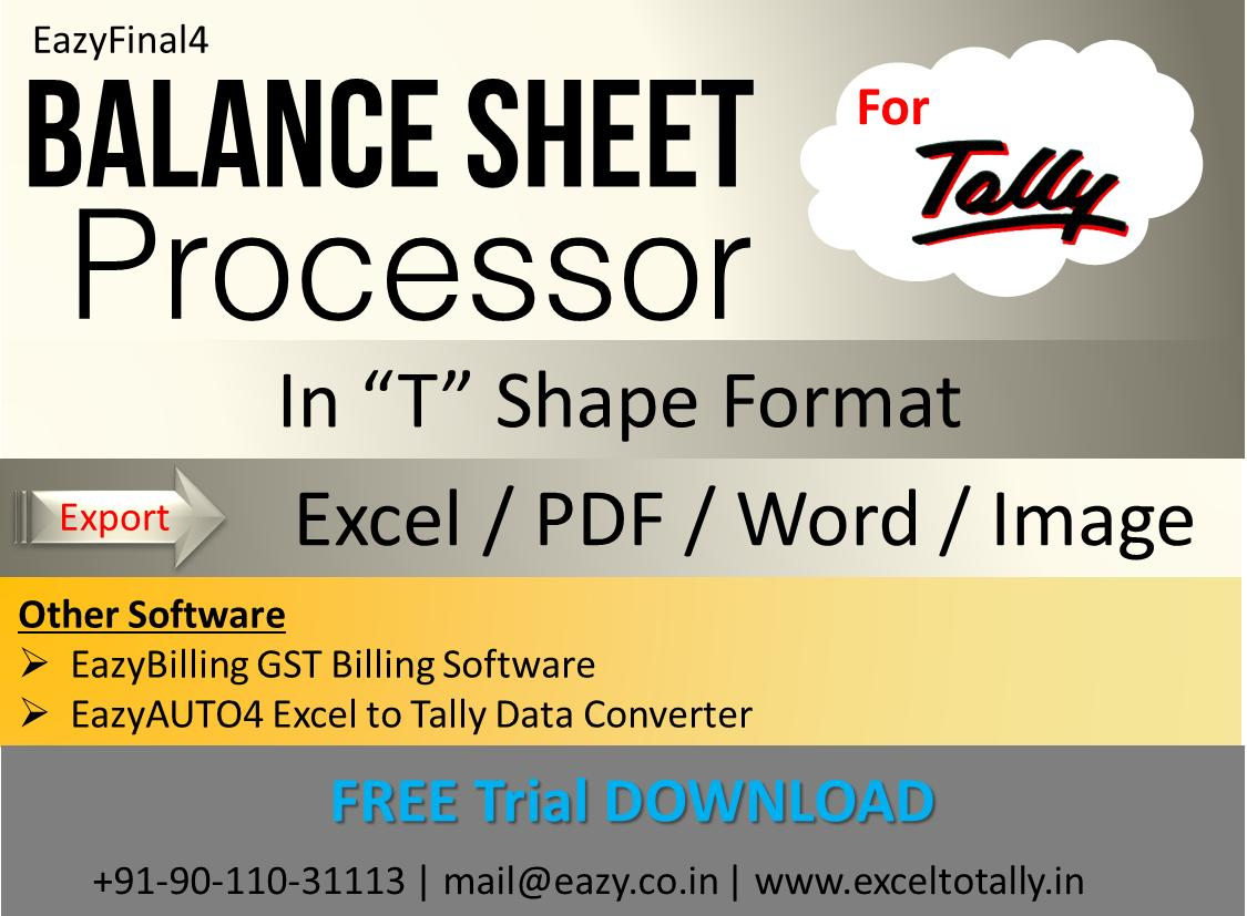 Excel to Tally (@exceltotally) | Twitter