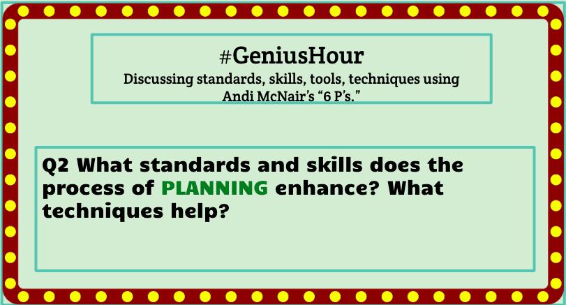 Q2 #geniushour