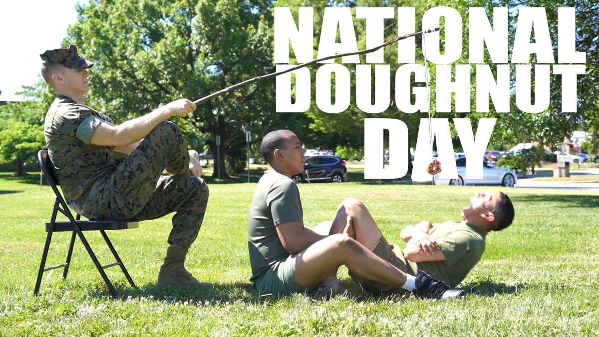What motivates you to run your PFT? #NationalDoughnutDay!
