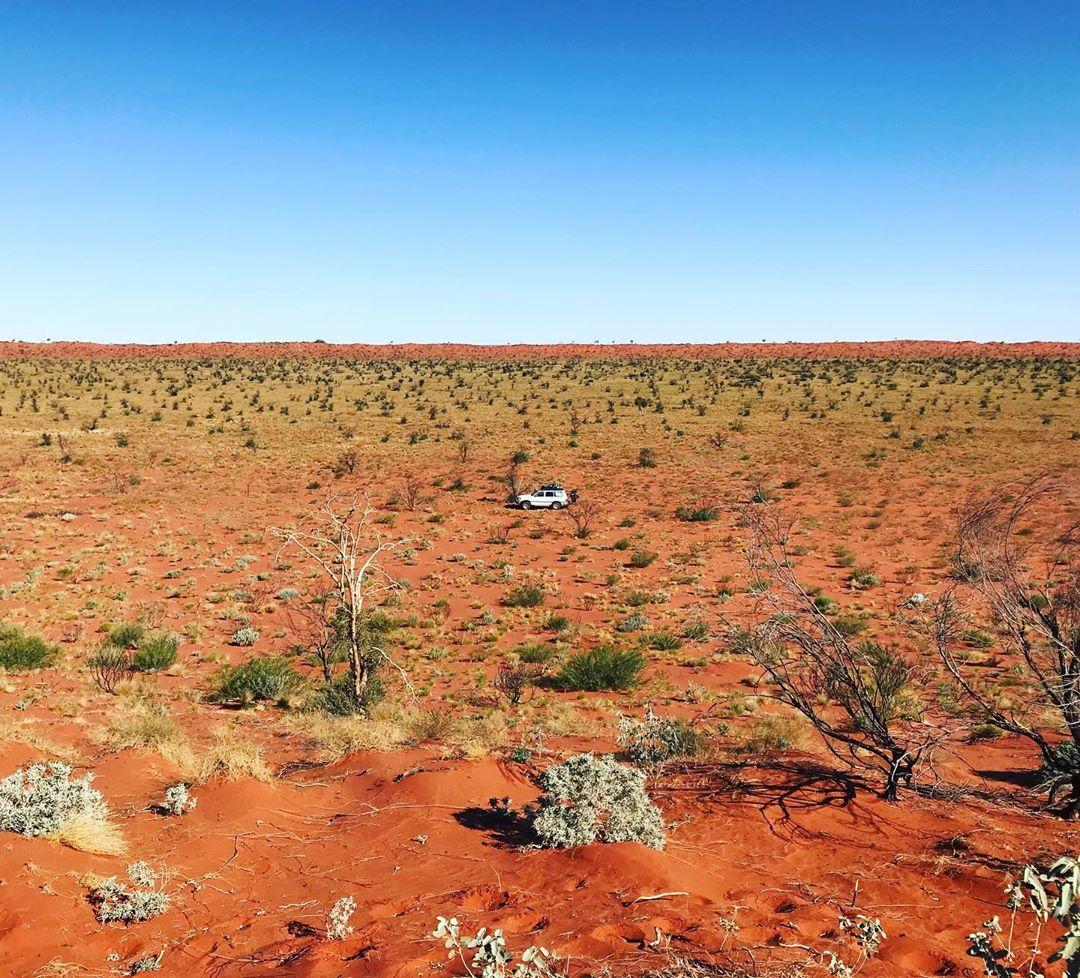 It's the perfect time to pack up the 4WD and head out along the challenging Canning Stock Route. One for the true adventurers, this route starts in Wiluna and covers 2,000kms of isolated rural outback. Pic: IG/willcolquhoun #goldenoutback #canningstockroute #thisiswa