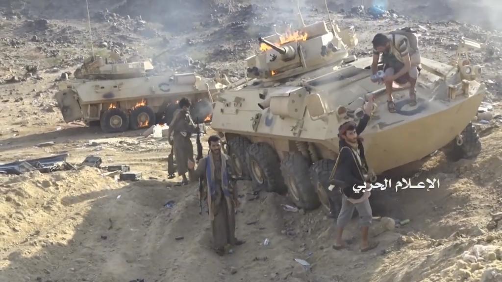 Наступление хуситов в провинции Наджран