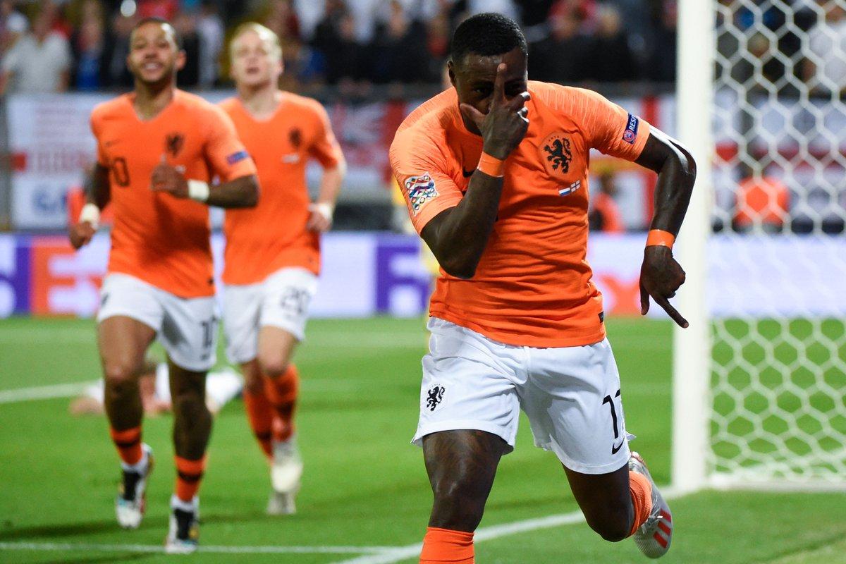هولندا تقصف إنجلترا لتواجه البرتغال في نهائي دوري الأمم 29