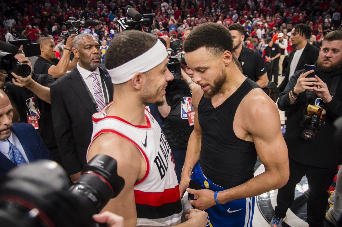 The legend of Seth vs Steph in the Western Conference Finals: The Portland Trail Blazers needed every advantage they could get in their Western Conference series against the Golden State Warriors, and in Games 2 and https://t.co/KWzqJ80Ntb https://t.co/ejokH8u9fr