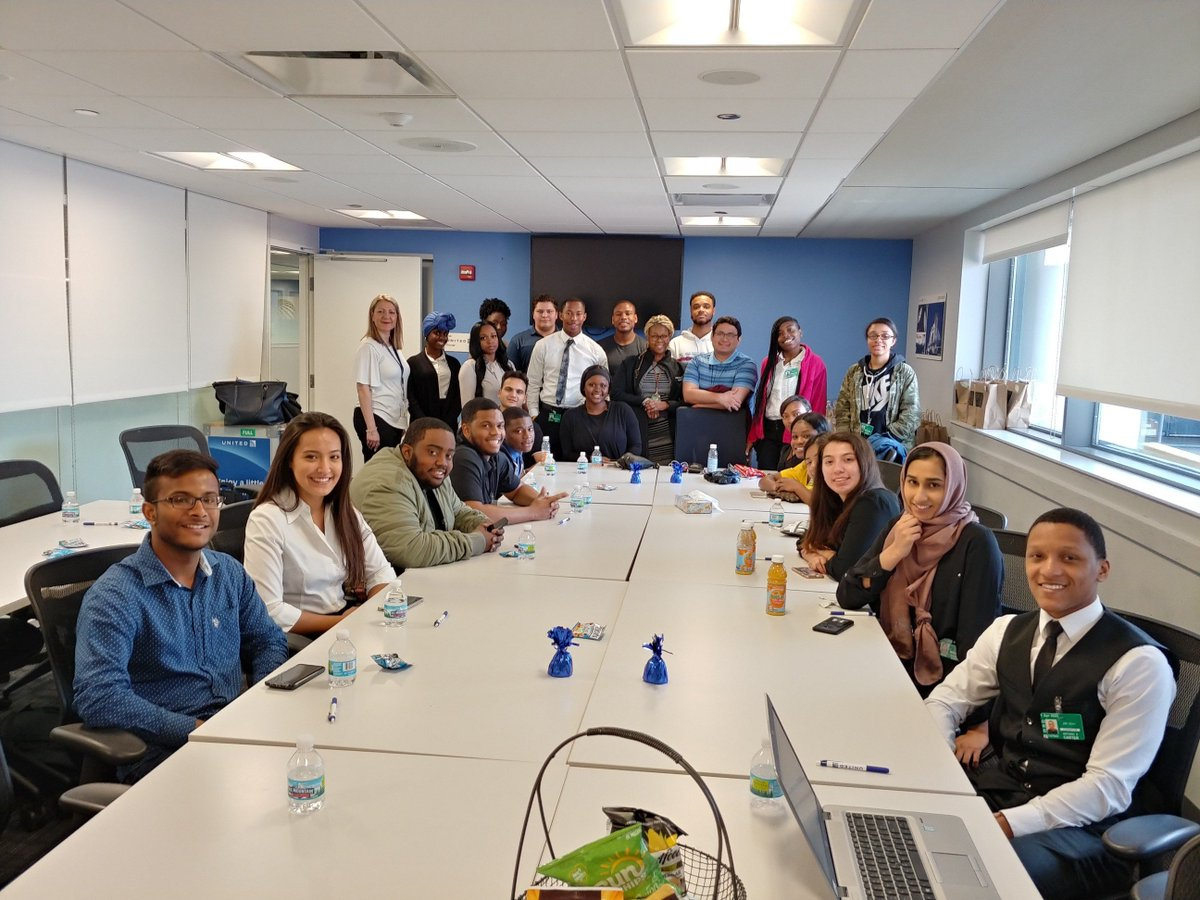 ORD United Summer Associates ready for training. Welcome to the United family!