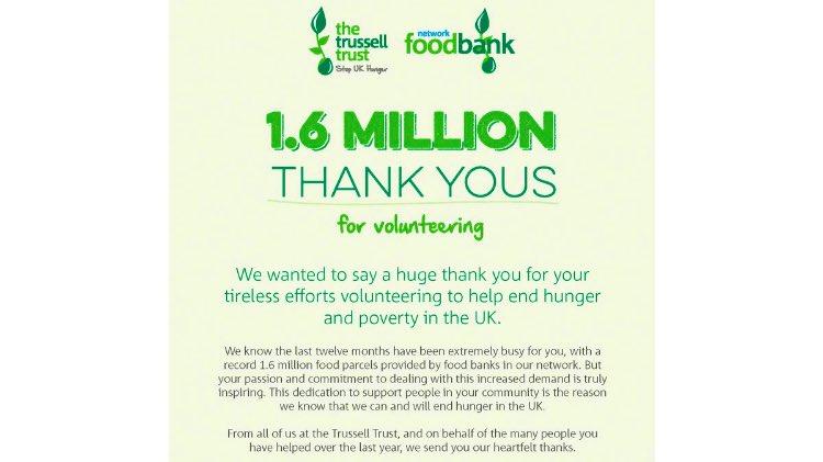 Warrington Foodbank On Twitter Volunteersweek As