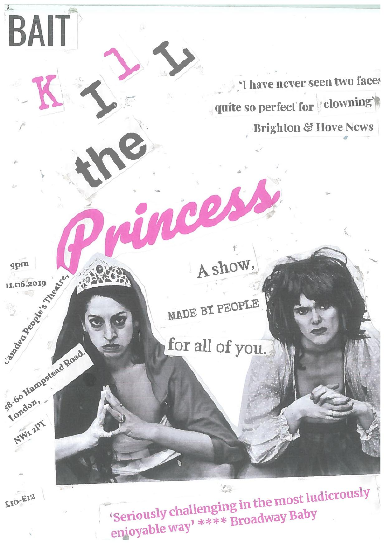 kill the princess poster