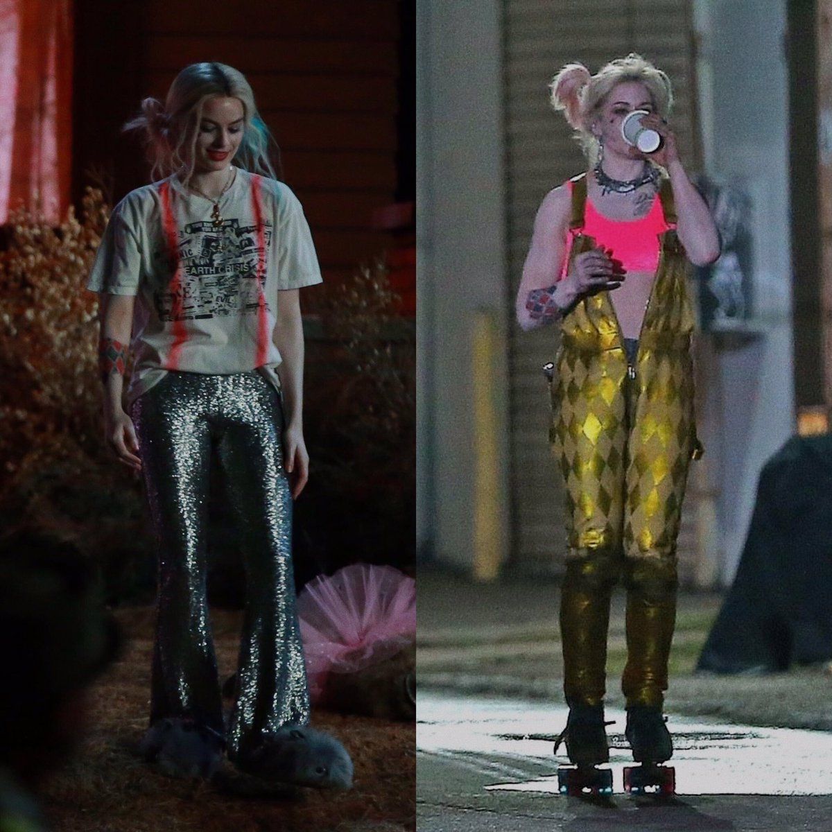 Best Of Margot On Twitter The Costumes Are Definitely Less Male Gaze Y That S What Happens When You Have A Female Producer Director And Writer Margot Robbie On Her New Harley Quinn