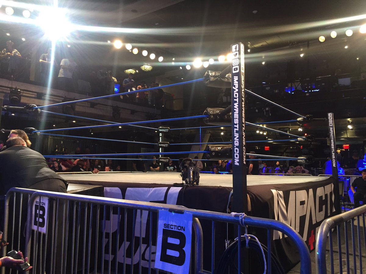 ** SPOILERS ** Impact Wrestling TV Tapings From NYC (6/7)