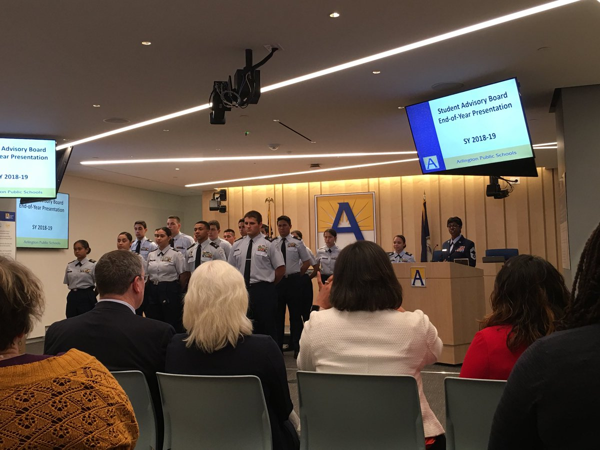 Honoring our AFJROTC at tonight's school board meeting.  Thank you <a target='_blank' href='http://twitter.com/APSCareerCenter'>@APSCareerCenter</a> <a target='_blank' href='https://t.co/45fwVN1JeK'>https://t.co/45fwVN1JeK</a>