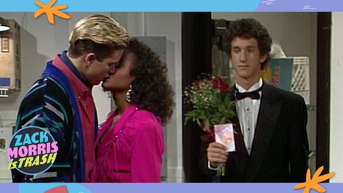 Remember the 'Saved by the Bell' when Zack Morris stabbed Screech in the back to hook up with Lisa? Zack Morris is trash. https://t.co/qAHL2uuoUW