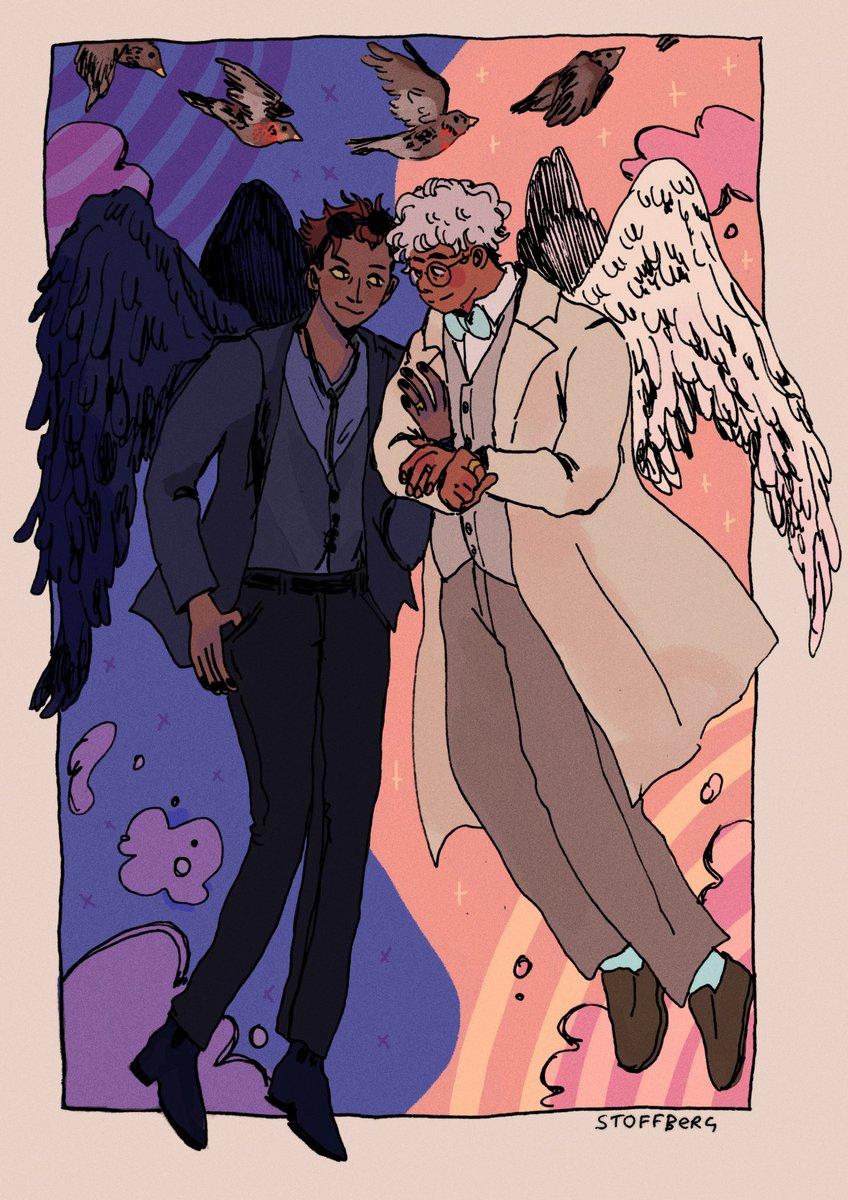Nightingale - phroobin - Good Omens - Neil Gaiman & Terry