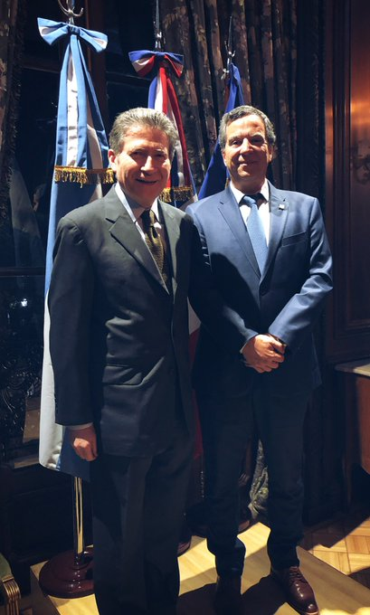 @CarlosAbrilAtos, CEO de Atos Argentina y @GuignardPH, Embajador de Francia en Argentina en el...