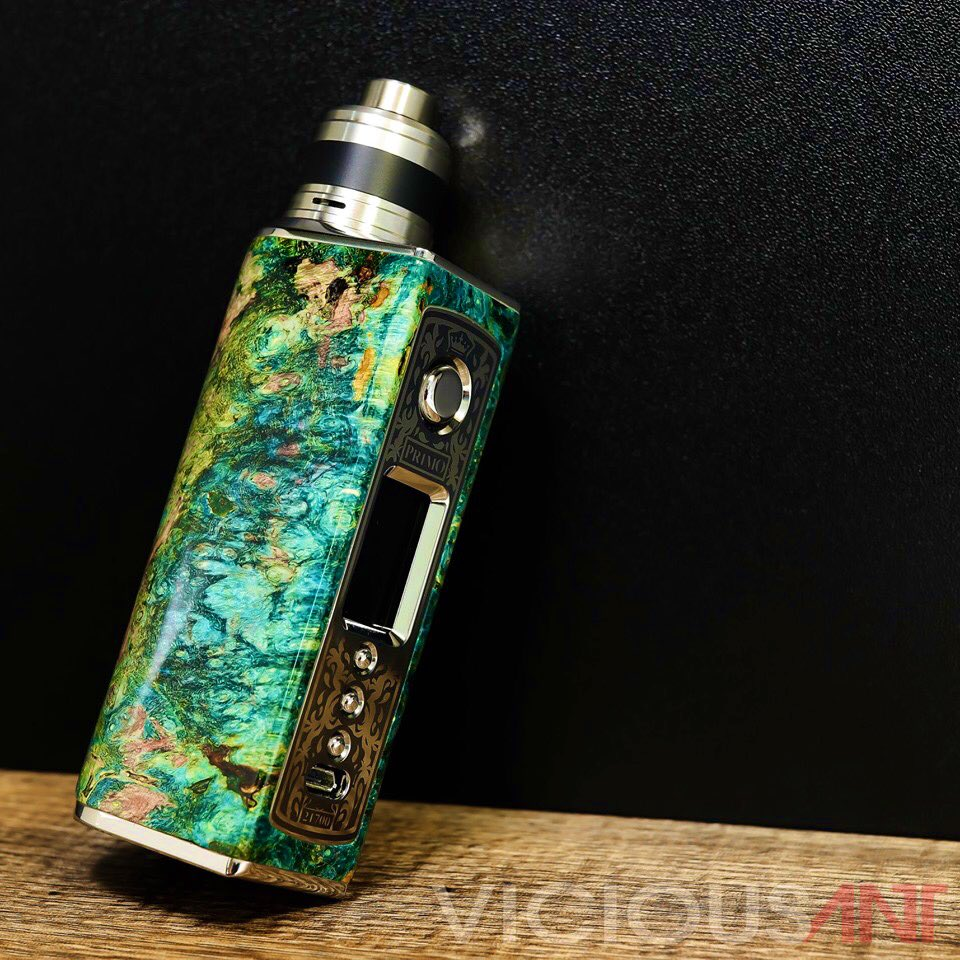 Primo 21700 Stabwood Titanium APEX RDA by Vicious Ant Philippines