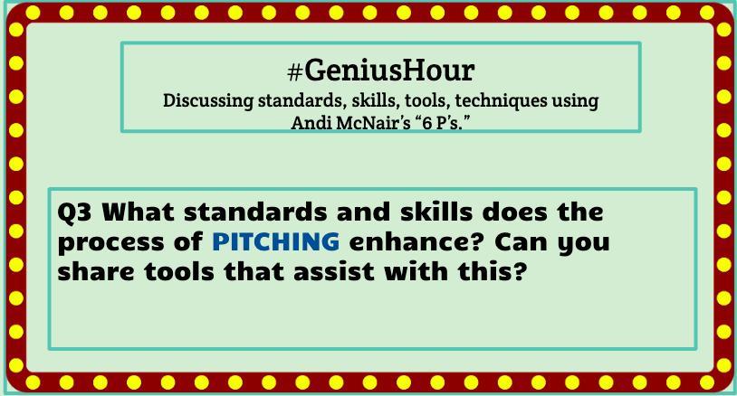 Q3 #geniushour