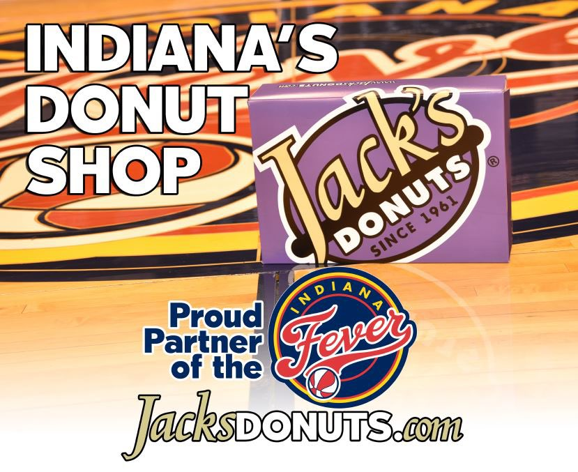 In honor of #NationalDonutDay 🍩 and 20 sweet #Fever seasons, we will be giving away 2️⃣0️⃣ dozen free @jacksdonuts before the game tomorrow while supplies last!  Stop by the Penn St. Plaza starting at 6 PM to grab your sweet treat! 😋