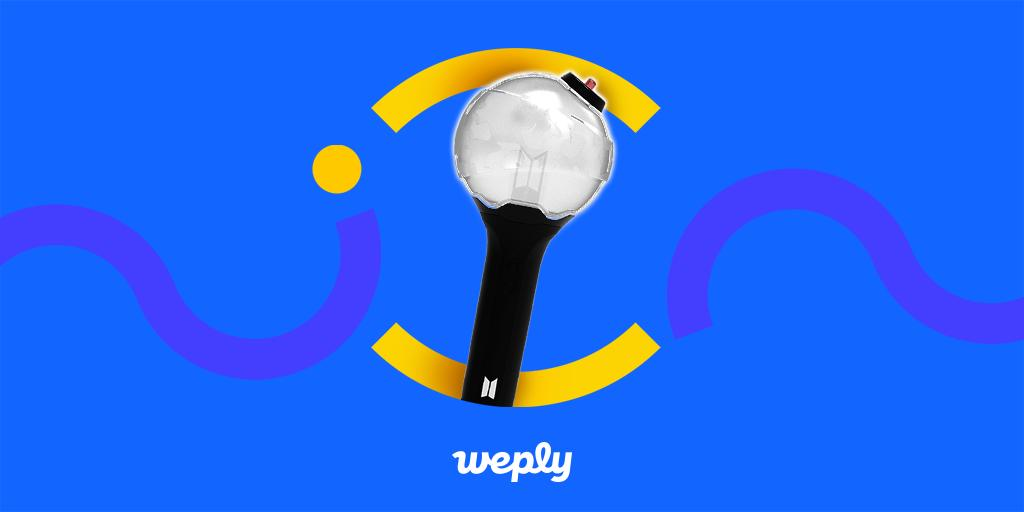 #BTS #OfficialMD #BackInStock BTS Official MD Trio have arrived at Weply! Army Bomb Ver 3, Carrying Case, and Slogan are ready and waiting at Weply! 👉 app.weply.io/zmryt