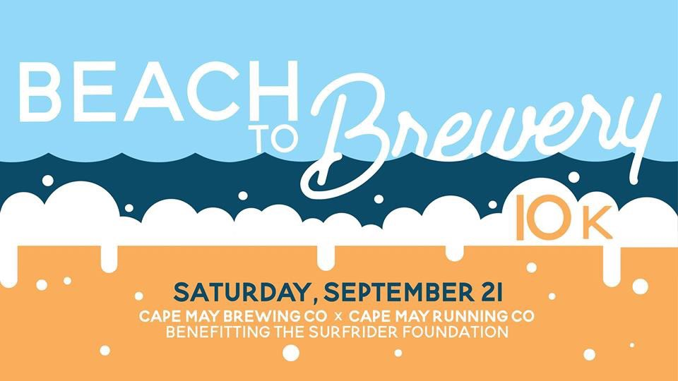 Fewer than 70 spots left for the #beachtobrewery 10k! Join us and Cape May Running Club on September 21st for a race from the Cape May beaches to our tasting room. Learn more & sign up here: https://runsignup.com/Race/NJ/CapeMay/BeachtoBrewery10k?fbclid=IwAR0PX7JpQTue_xOZfsjVXPcmhBdt3S0t12VJisTMPx-__31kot-_W4JwobM… #capemay #beachtobrewery #race #running #10krace #capemaybrewco