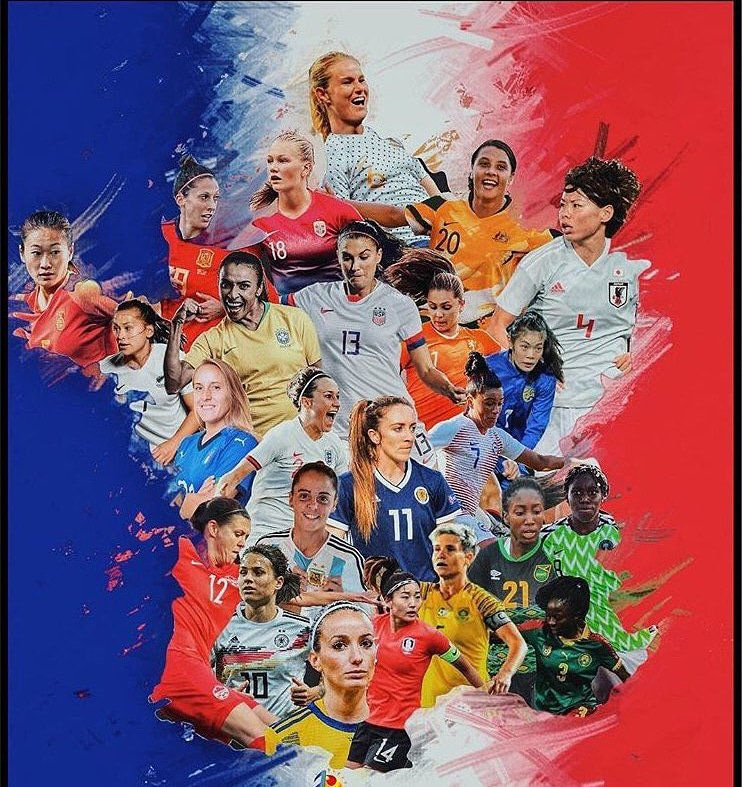 It's here!!! This is the most exciting team Canada has ever produced, enjoy watching them shine. #WorldCup2019 #France2019 #DareToShine #canwnt🇨🇦