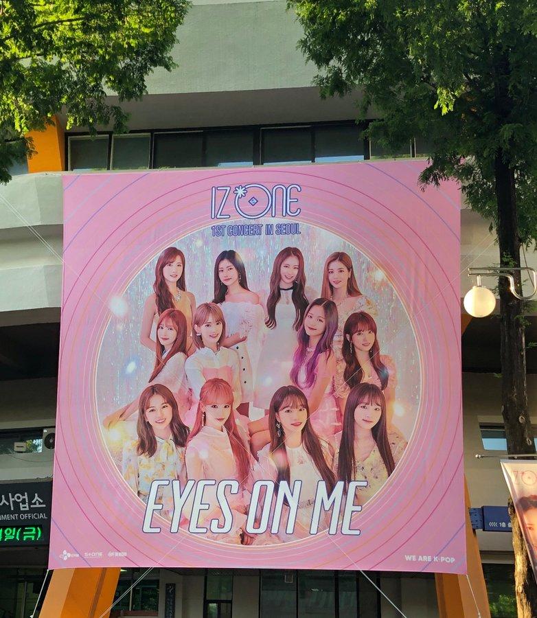 IZ*ONE 1st Concert: Eyes on Me in Seoul Day 1 > 7 June 2019