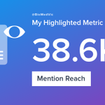 My week on Twitter 🎉: 36 Mentions, 38.6K Mention Reach, 18 Likes, 10 Retweets, 17.4K Retweet Reach. See yours with https://t.co/rF5y8MSrf4