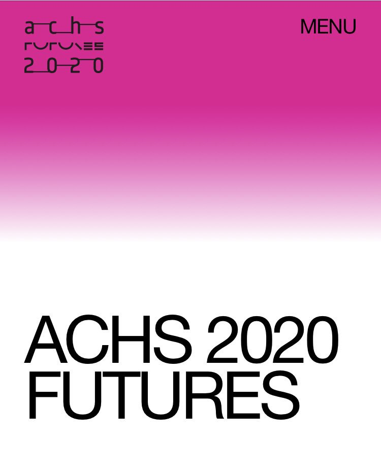 ACHS Conference 2020 (@ACHS_2020) | Twitter