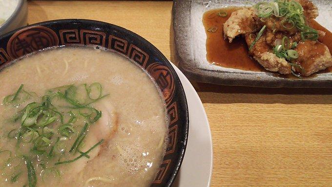 [英語日記] 豚骨ラーメン Pork-bone Ramen