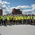 Successful topping out event held at Bailey Street for the new 220 bed #StudentAccommodation scheme in #Sheffield. #Construction @uninnstudent @TorsionDevelop @TorsionEngineer @UNINN_Student @DAYArchitects @patrickparsons @PPL_Engineering @CurtinsConsult  @DLA_Piper @TeamHorbury