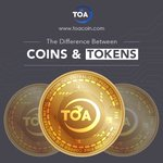 Image for the Tweet beginning: Coins and token? What are