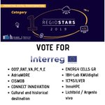 Huge congrats to all the successful Regional Stars from #Interreg. Loads of great projects in the final. Show your support by liking these great projects #MadeWithInterreg  In digital transformation alone we have 10 #Interreg projects on the shortlist! https://t.co/gA8yAipiv6