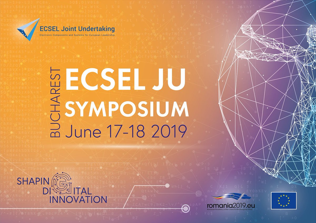 Industry4.E Lighthouse Project I-MECH will be at  #ECSELJUSymposium2019 See you there #Industry40 #Digitalindustry #ECSELJU #H2020 #Industry4E