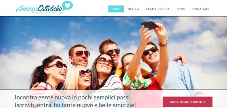 incontri siti Web cattolici