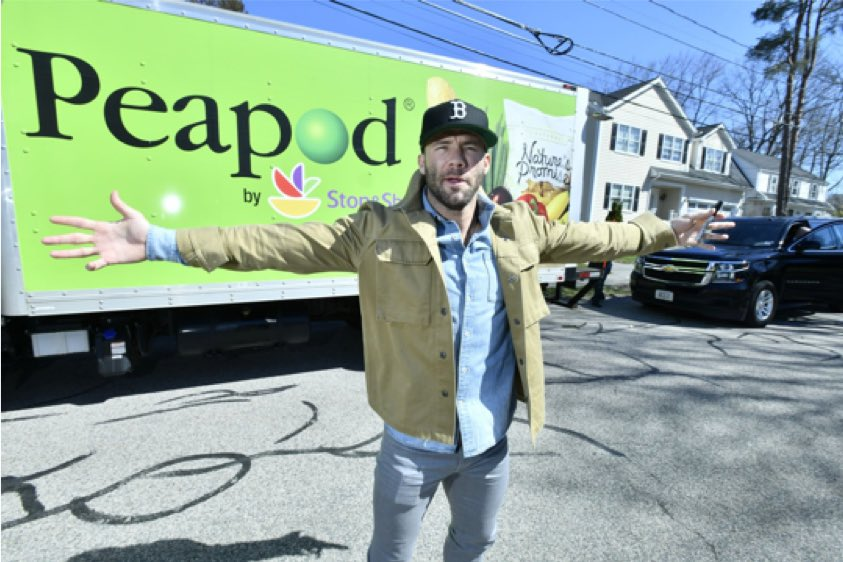 Hitting the road today with the Peapod crew to hook up some lucky fans with some house cleaning products to help you get ready for summer. LETS GO!