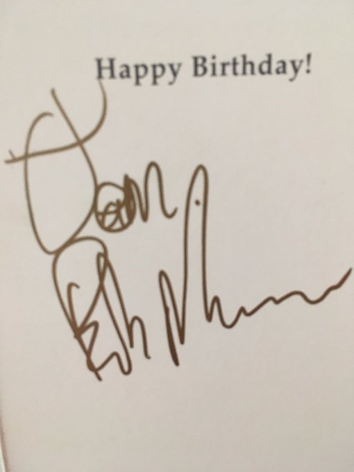 Bob Mortimer unwittingly wished me a happy birthday thanks to my wonderful Have a sniff of it: