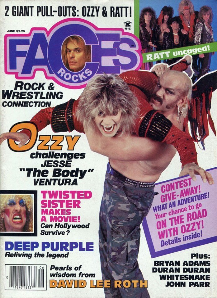 June 1985 #fbf Faces Rocks Magazine Cover image: @MarkWeissguy