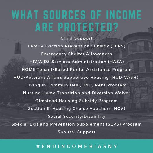End Income Bias New York
