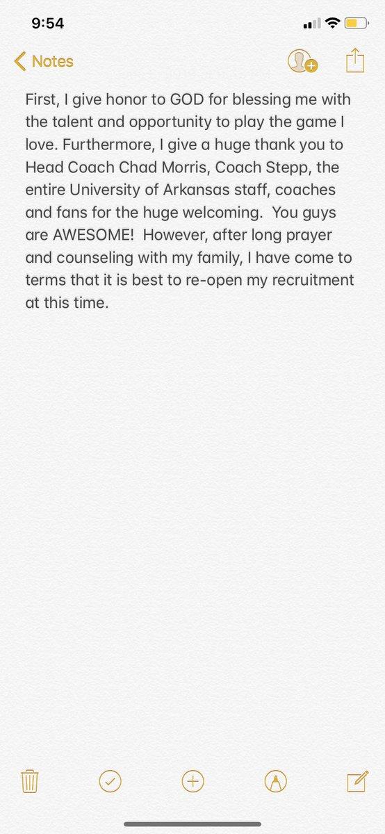 4-Star WR Ze'Vian Capers Re-Opens Recruitment