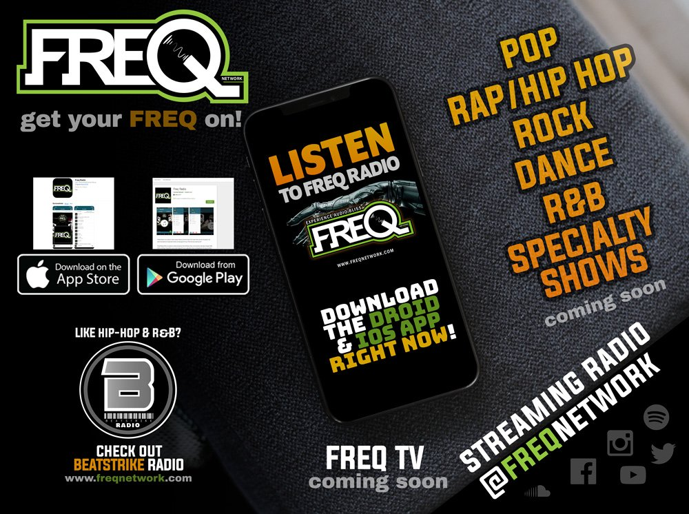 DOWNLOAD THE STATION APPS!👇  🔊🔊🚨 DROID APP  🚨🔊🔊 ⏩⏩📲📲  http://bit.ly/freqdroid    ⏪⏪  🔊🔊🚨 APPLE APP 🚨🔊🔊 ⏩⏩📲📲  http://bit.ly/FREQradio    ⏪⏪  Desktop ⏩  http://bit.ly/listen2freq   #internetradio #pop #hiphop #rock #rap #Dance #nowplaying #music #apple #android