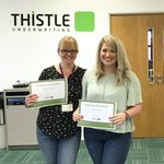 Well done to our joint Employee of the Month winners, underwriters Helen Llewellyn and Amie Dodd. Congratulations!