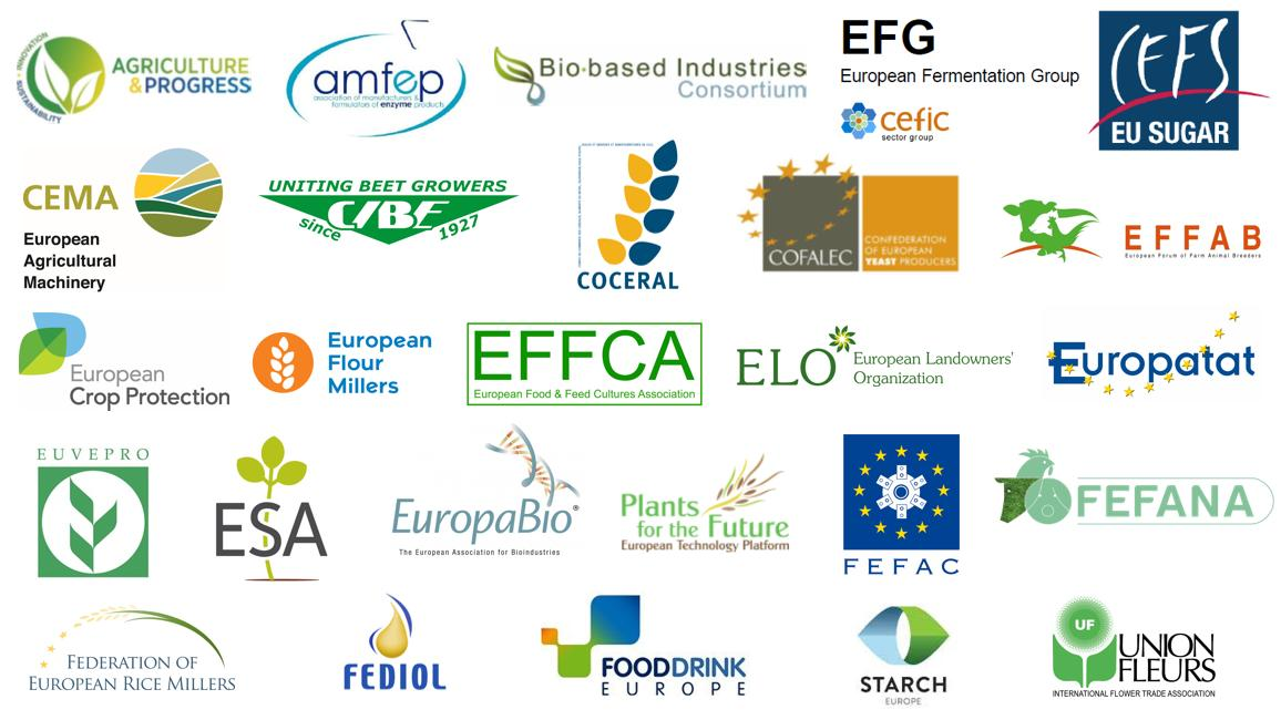 26 European organisations jointly call upon member states and the #European Commission to initiate a legislative change that provides #innovation-friendly rules for #plantbreeding.  Learn more here   https://www. euroseeds.eu/update-26-euro pean-business-organisations-ask-eu-pro-innovation-rules-plant-breeding  …  #TellEurope  #EUelections2019  @EU_Health @EUAgri<br>http://pic.twitter.com/iBYgVCipGL
