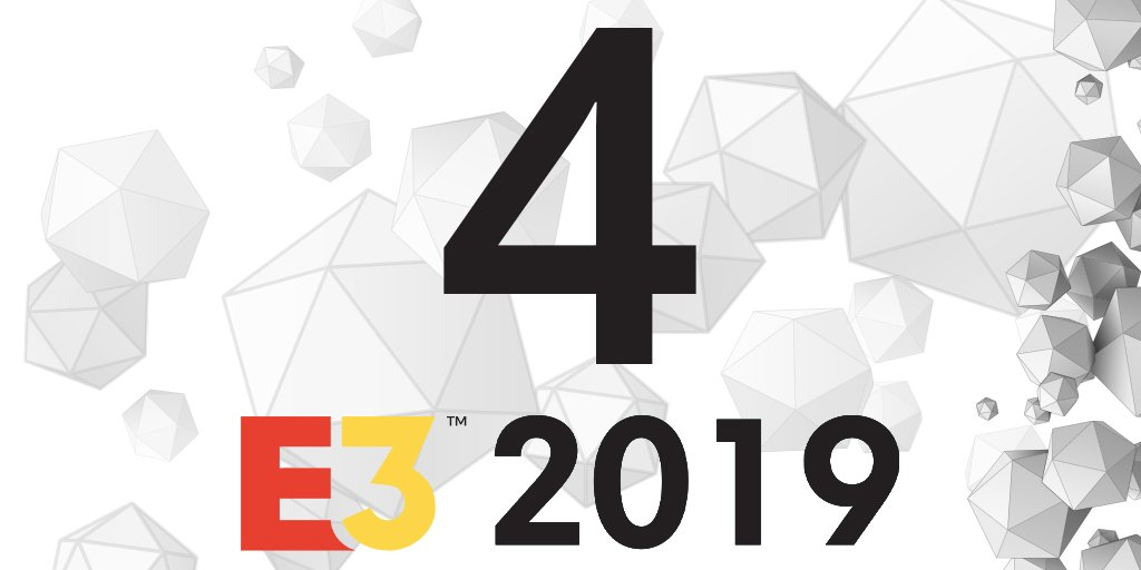 Game on in #4Days. 😱🙃🎮  ---> http://bit.ly/E3Gamer   #E3 #letsdothis