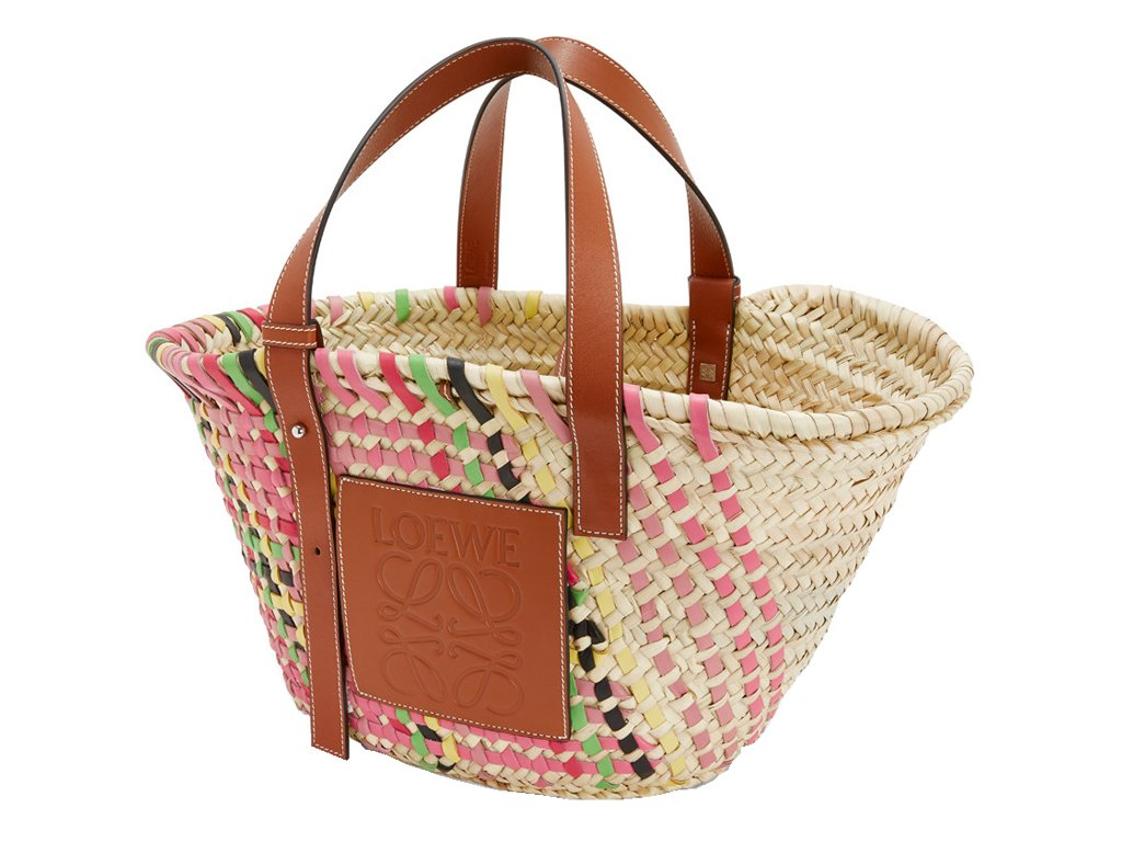 1ce7419e1 #bagoftheday @LoeweOfficial Basket Bag In Pink Multitone & Tan https:// bagaholicboy