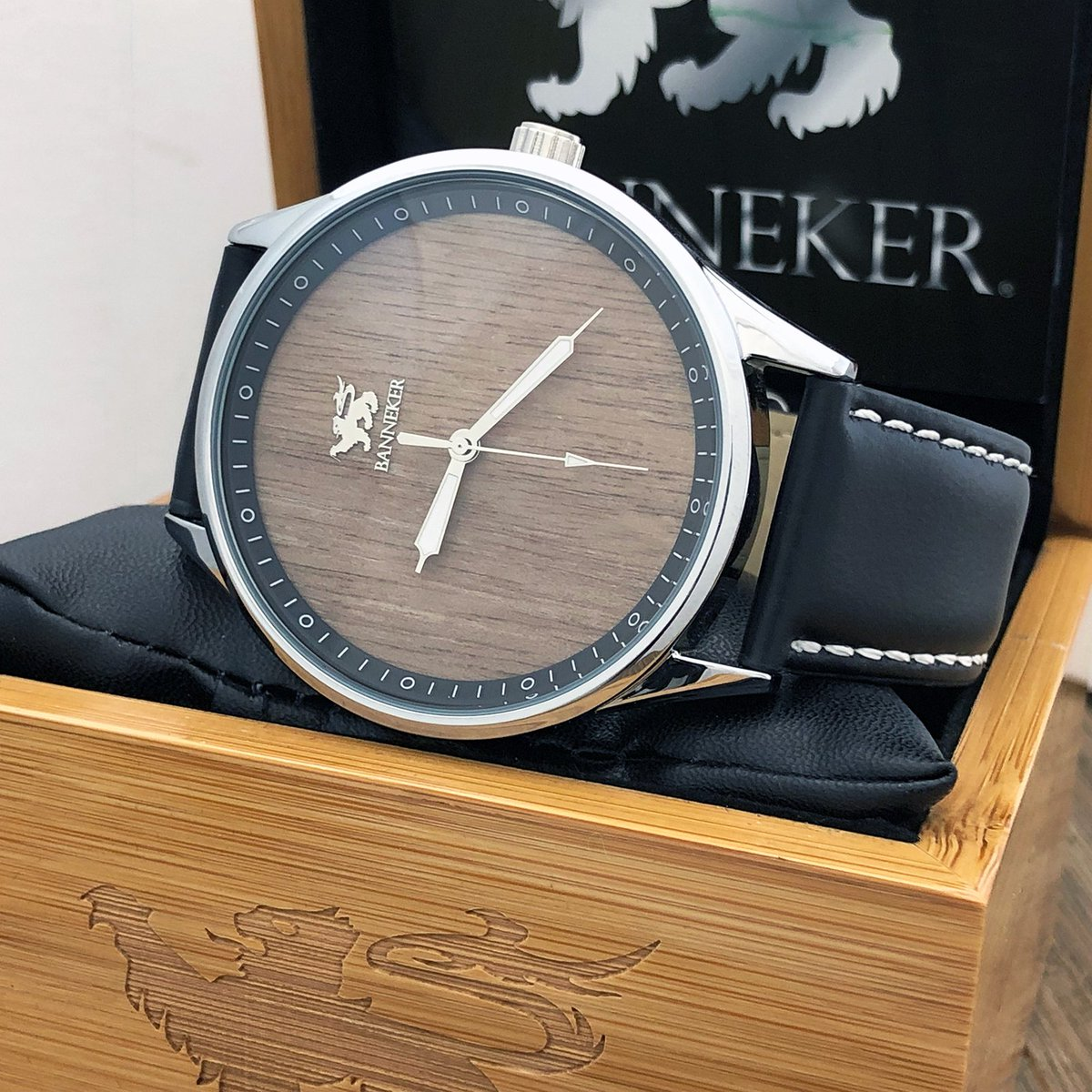 9afd27c1f ... in stock and shipping now including the Black Eagle Baller and the  Camelot series of watches. #watchsale #blackeagle #bannekerwatches #camelot  #banneker ...