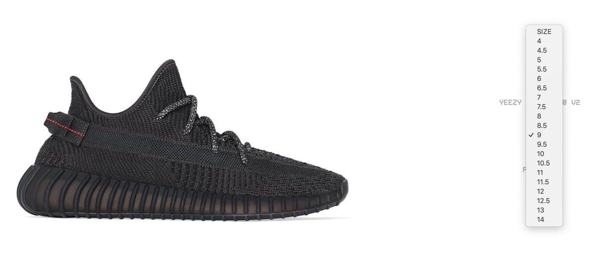 yeezy supply black 350