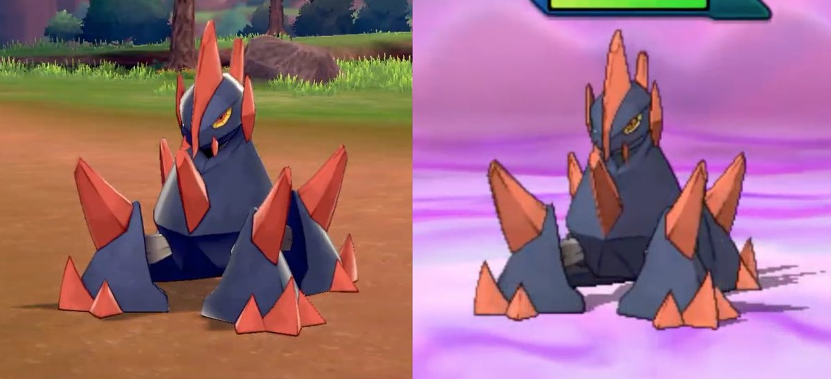 Pokemon Sword Shield Leaks On Twitter Here Are Some Comparisons